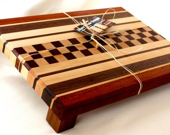 Exotic Wood Chop Block