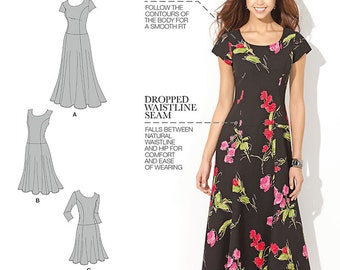 Simplicity Sewing Pattern 1537 Misses' and Plus Size Amazing Fit Dress
