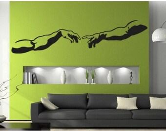 The Creation wall decal, sticker, mural, vinyl wall art