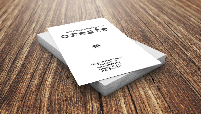 Custom business card etsy shop creative design for Etsy shop business cards