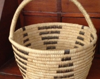 Large handled Papago basket