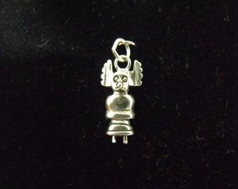 Sterling Silver Kachina Charm/Pendant - .925 1.8 grams