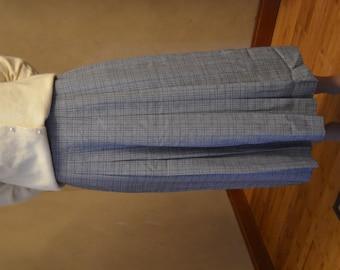 Vintage ShipNShore pleated skirt size 10