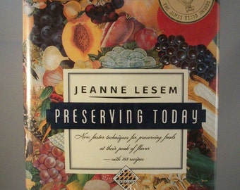 Preserving Today a cookbook