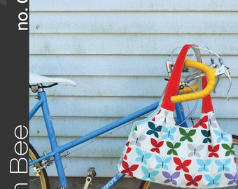 """GREEN BEE pattern no. 003 """"the scoop tote"""" bag GB003"""