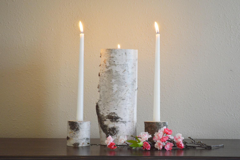 Wedding Unity Candle Holder Set Wedding Ceremony by ...