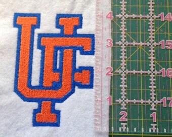 University of Florida Logo Embroidery Pattern