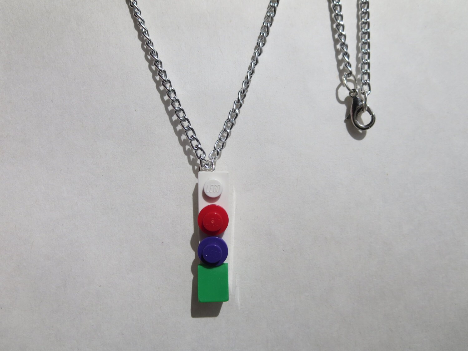 simple lego necklace