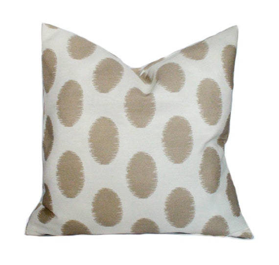 Brown outdoor pillows 20x20 Outdoor pillow covers by PillowCorner
