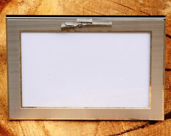 Rifle Photo Picture Frame Gift Landscape Or Portrait