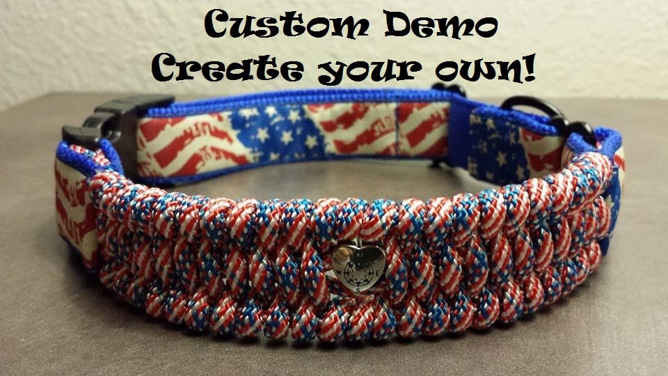 Create Your Own Custom Dog Collar: dog clothes design your own