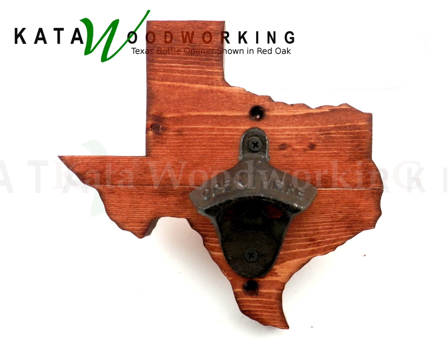 texas shaped wood cut out bottle opener wall mount. Black Bedroom Furniture Sets. Home Design Ideas