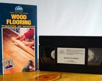 How-To Video Guide - Wood Flooring, Preparation and Installation VHS with Project Guide