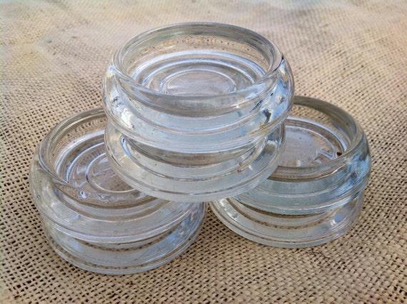 Glass Furniture Coasters Floor Protectors Set Of 6