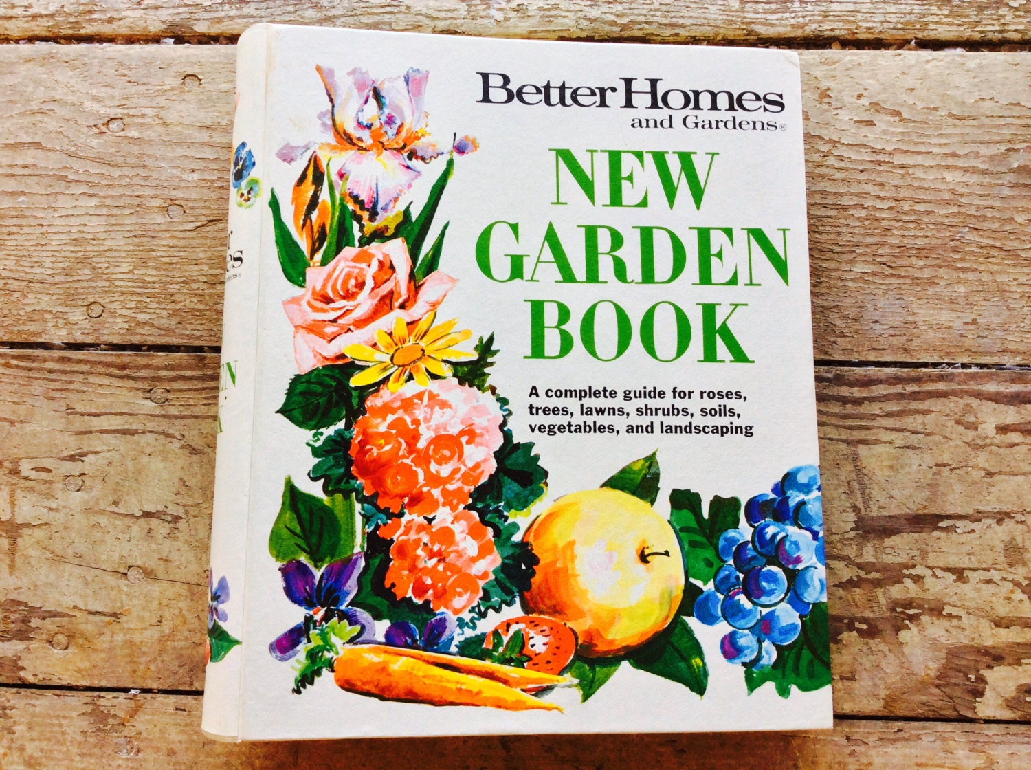 Vintage better homes and gardens garden book guide for roses - Better homes and gardens cookbook 1968 ...