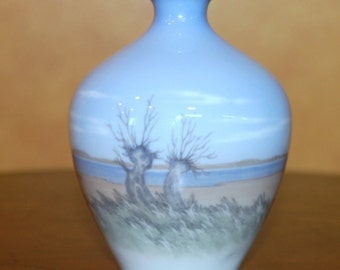Reduced...Scarce.....Royal Copenhagen Small Scenery  Vase