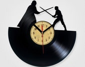 Vinyl Record Clock - Star Wars.