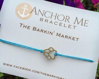 The Barkin Market ... Anchor Me Bracelet