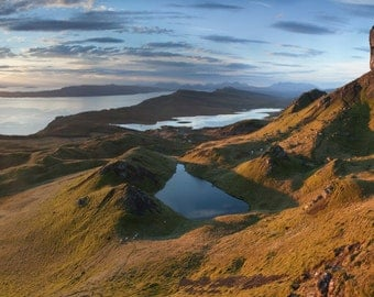 Sunrise over the Old Man of Storr, Isle of Skye