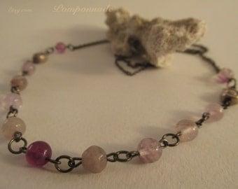 2643- Necklace, Fluorite