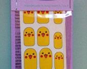 Pikachu Nail Wraps