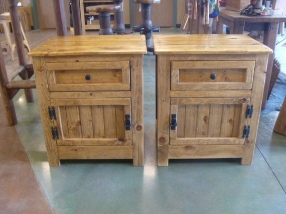 pallet wood nightstand repurposed night stand