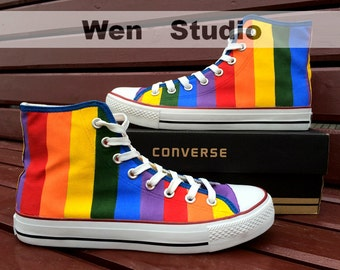 popular items for paint on converse on etsy