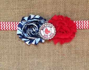 The Spirit Collection-  Boston Red Soxs inspired Headband