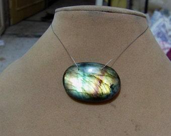 1 Pendant Spectrolite  Labradorite   Fancy   shapes   beads