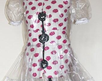 "Sissy French Maid dress PVC  Dress ""The CU"""