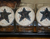 Primitive Country 3 pc Canister Set