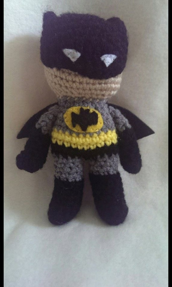 Batman amigurumi by NovaXavias on Etsy