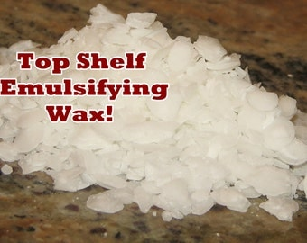 EMULSIFYING WAX NF (3 or 4 lbs.) Vegetable Based for Lotions & more!