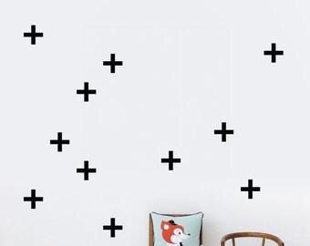 cross decal pattern, vinyl pattern, vinyl decal, custom sticker, decal, temporary wall decal, wall sticker, Vinyl Wall Stickers