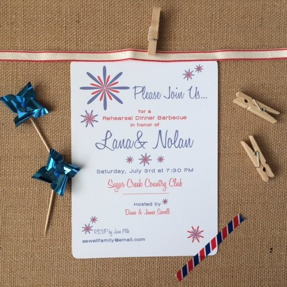 custom patriotic party printable invitation by design candy catch