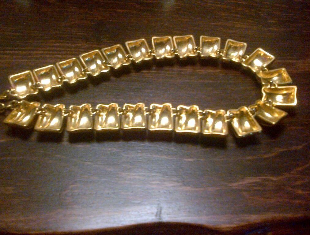 necklace by doncaster gold link chocker style. Black Bedroom Furniture Sets. Home Design Ideas
