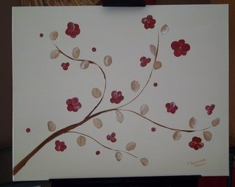 Vines and Flowers III