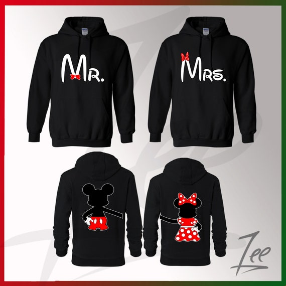 Mickey Minnie Mouse Couple Shirts Couple Matching Mickey Mouse