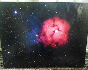 Space Trifid Nebula Print