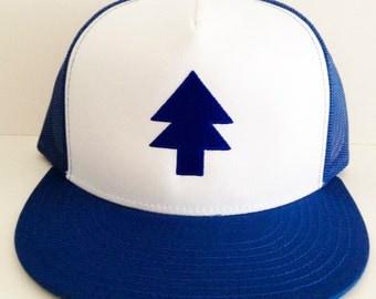 Dipper Pine Hat Dipper Pine Tracker Hat Pine Tree hat Gravity Falls Hat Dipper beanie