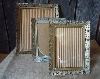 25 -REDUCED- Frames -Vintage - Metal Filagree -Goldtone