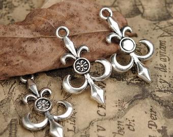 10 Special Tibetan Silver anchor