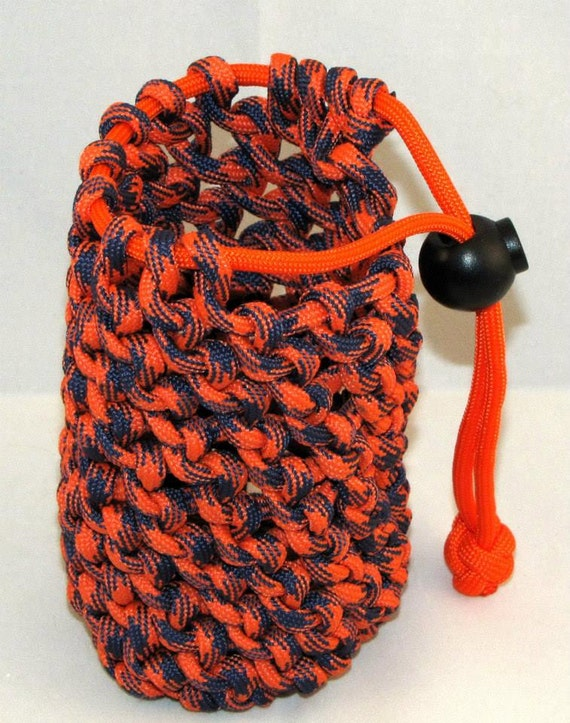 Paracord can koozie for Paracord koozie how to make