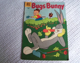 Dell Comic Bugs Bunny 1958 No. 62 August-September
