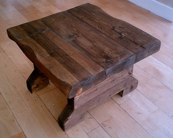 New Hand Made Rustic Side Table 050