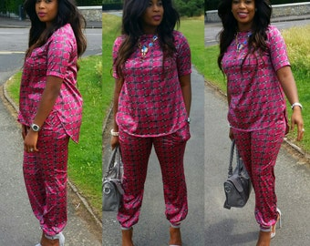 Miss FERNE PJ Inspired / Lounge wear Set