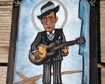 Retablo of Robert Johnson ***SOLD***