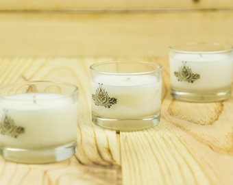 Hand Poured 100% Natural Wax Votive Candles