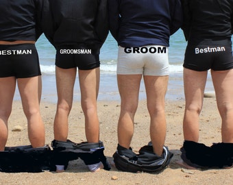 Personalized men underwear ,groom gift,groomsman gift,wedding gift, underwear,personalize underwear groom gift,anniversary gift groom