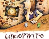 Underwire: a graphic novel by Jennifer Hayden about womanhood, motherhood, personhood.